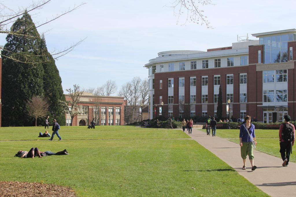 OSU Library Quad
